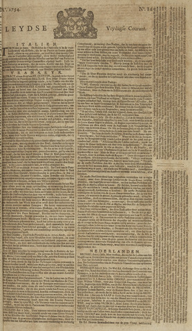 Leydse Courant 1754-07-19