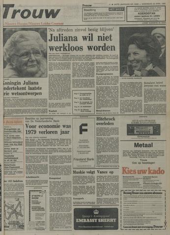 Nieuwe Leidsche Courant 1980-04-30