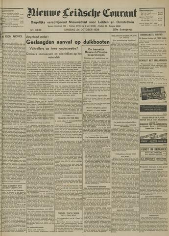 Nieuwe Leidsche Courant 1939-10-24
