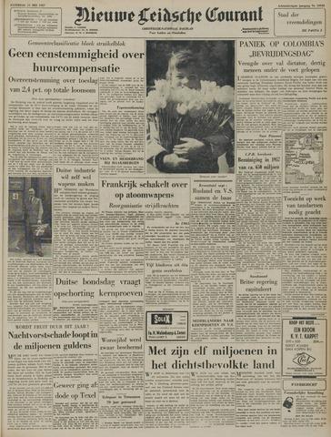 Nieuwe Leidsche Courant 1957-05-11
