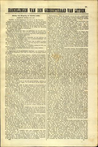 Handelingen van de Raad 1868-10-27