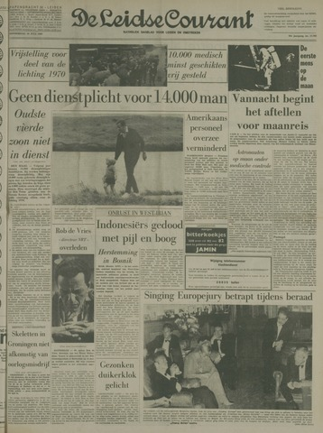 Leidse Courant 1969-07-10