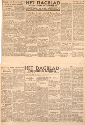 Dagblad voor Leiden en Omstreken 1944-12-12