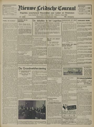 Nieuwe Leidsche Courant 1938-02-23