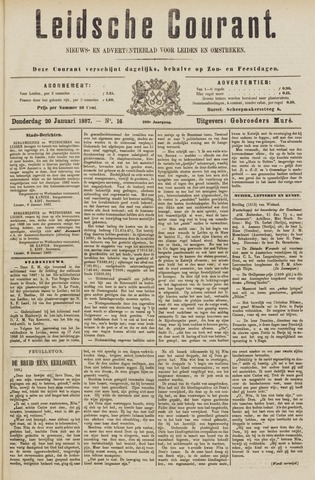 Leydse Courant 1887-01-20