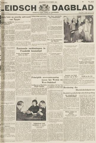 Leidsch Dagblad 1951-10-15