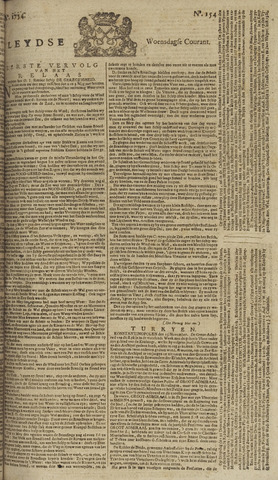 Leydse Courant 1754-12-25