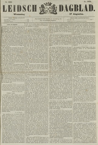 Leidsch Dagblad 1870-08-17
