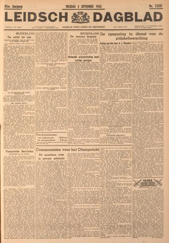 Leidsch Dagblad 1942-09-04