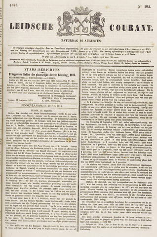 Leydse Courant 1873-08-16