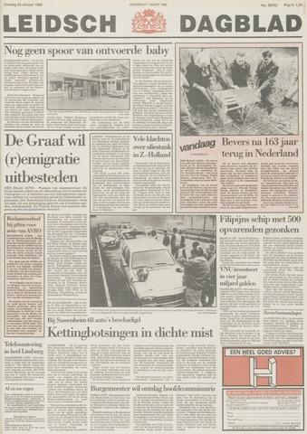 Leidsch Dagblad 1988-10-25