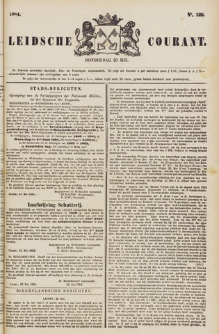 Leydse Courant 1884-05-29
