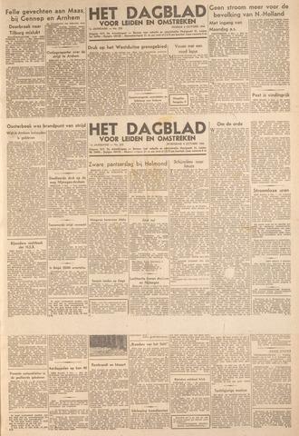 Dagblad voor Leiden en Omstreken 1944-10-04