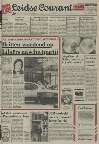 Leidse Courant 1984-04-18