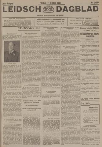 Leidsch Dagblad 1938-10-07