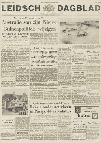 Leidsch Dagblad 1962-01-24