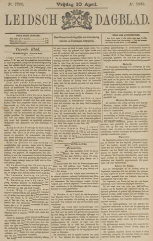 Leidsch Dagblad 1885-04-10