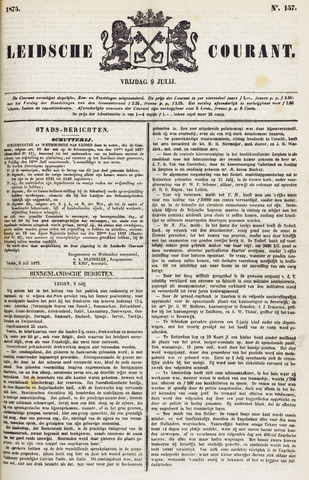 Leydse Courant 1875-07-09