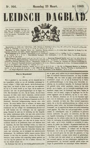Leidsch Dagblad 1863-03-23