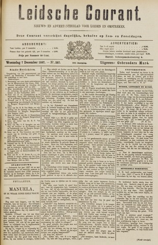 Leydse Courant 1887-12-07