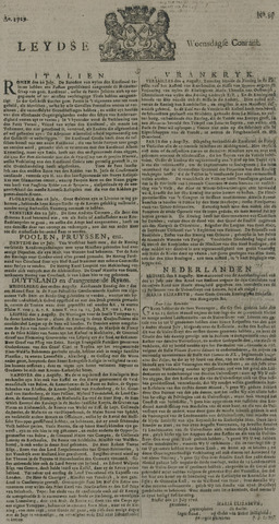 Leydse Courant 1729-08-10