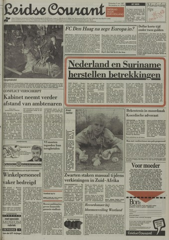 Leidse Courant 1987-05-06