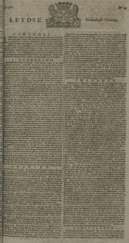 Leydse Courant 1727-02-24