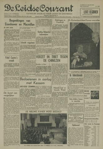 Leidse Courant 1959-03-21