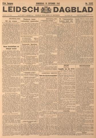 Leidsch Dagblad 1942-09-10