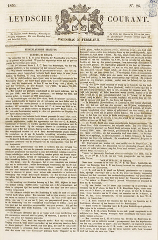 Leydse Courant 1860-02-29