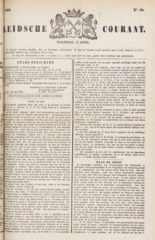 Leydse Courant 1883-04-11