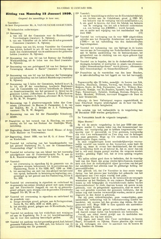 Handelingen van de Raad 1930-01-13
