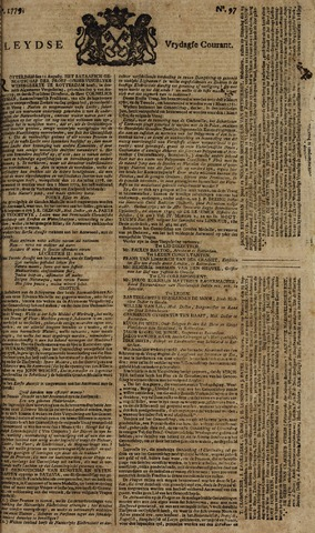 Leydse Courant 1779-08-13