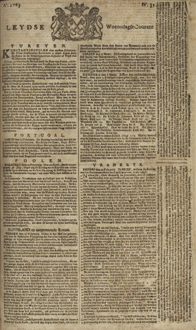 Leydse Courant 1765-03-13