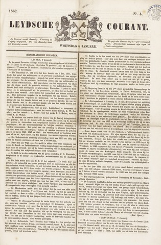 Leydse Courant 1862-01-08