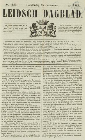 Leidsch Dagblad 1863-12-24
