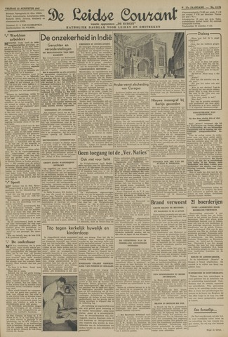 Leidse Courant 1947-08-22
