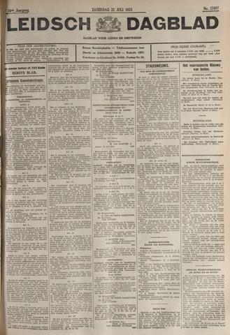 Leidsch Dagblad 1933-07-22
