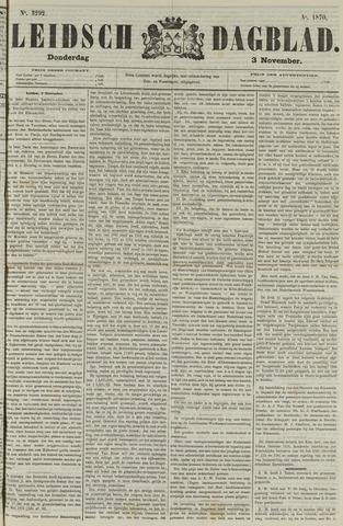 Leidsch Dagblad 1870-11-03