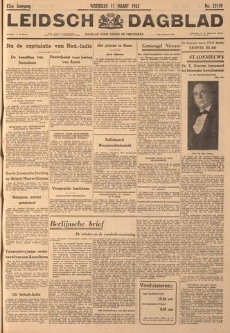 Leidsch Dagblad 1942-03-11