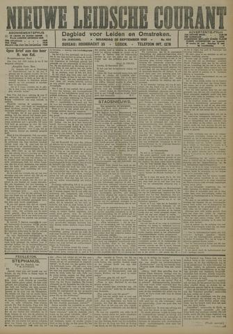 Nieuwe Leidsche Courant 1921-09-26