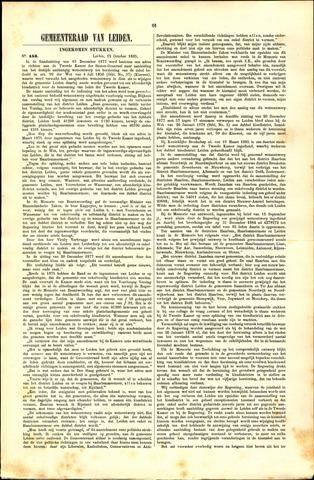 Handelingen van de Raad 1885-10-12