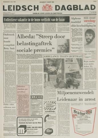 Leidsch Dagblad 1980-07-02