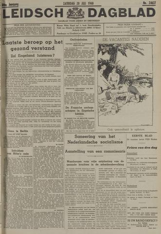 Leidsch Dagblad 1940-07-20