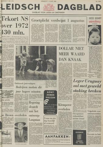 Leidsch Dagblad 1973-07-07