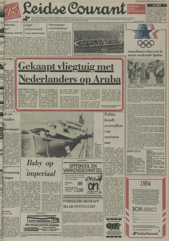 Leidse Courant 1984-07-30