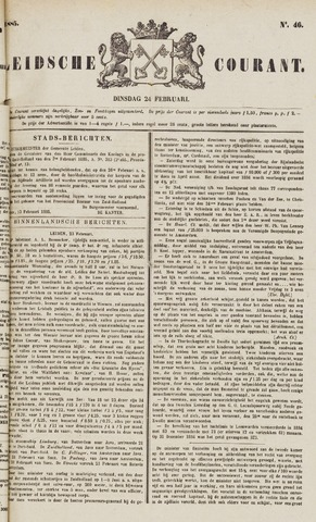 Leydse Courant 1885-02-24