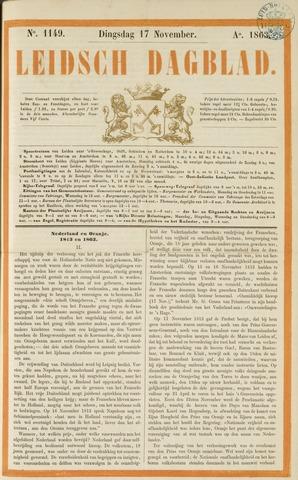 Leidsch Dagblad 1863-11-17