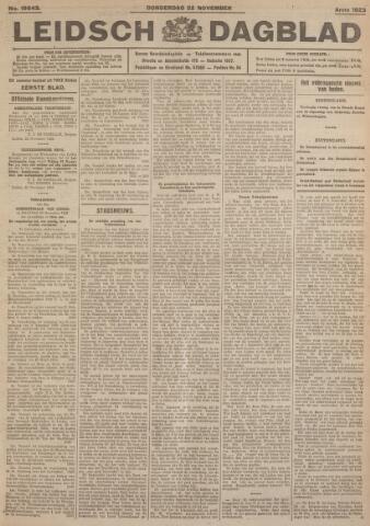 Leidsch Dagblad 1923-11-22
