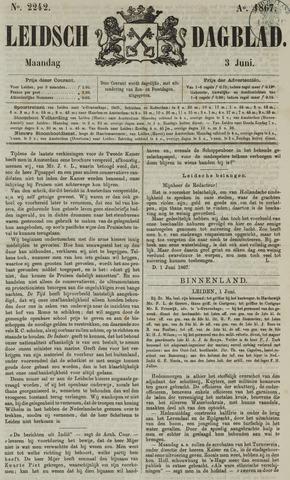 Leidsch Dagblad 1867-06-03